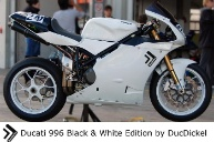 Ducati 996 Black and White Edition by DucDickel