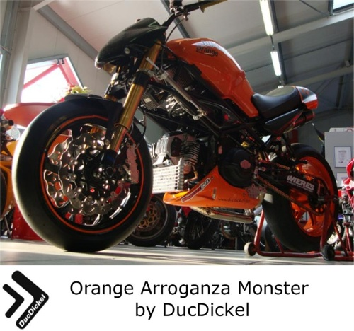 Orange Arroganza Monster by DucDickel
